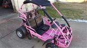 Trailmaster XRX Mid-Size PINK Go Cart - Full Suspension - Larger 200cc Engine